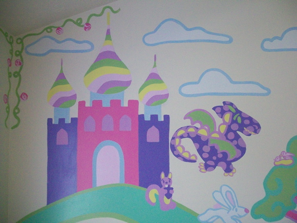 Princess Pony Mural