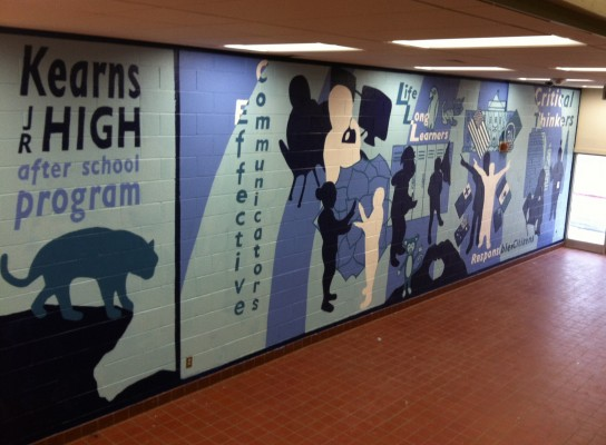 Kearns Junior High School – Mural and Mosaics