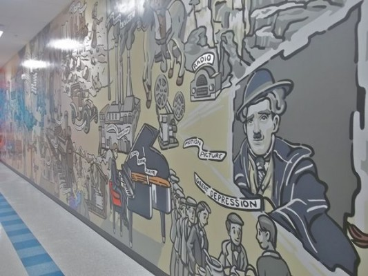 Children First Academy of Phoenix – History Mural