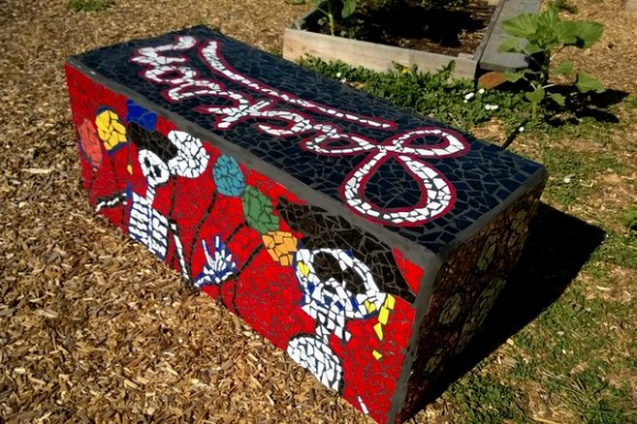 SLC Art Gardening – Mosaic Art Sculptures and Installations